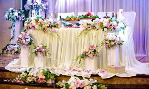 годовщина свадеб по годам: названия и значение